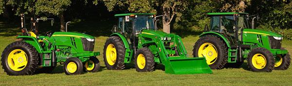Тракторы Jonh Deere